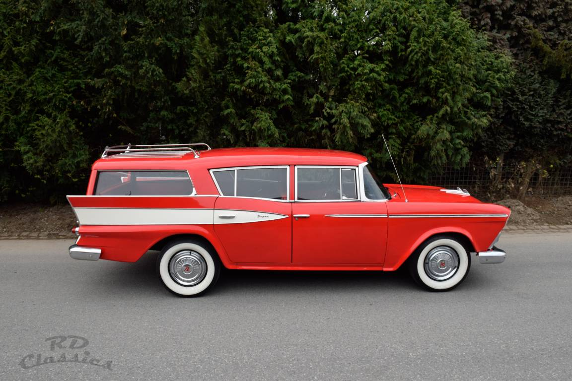 1959 AMC Rambler Super Custom Country Wagon For Sale (picture 3 of 6)