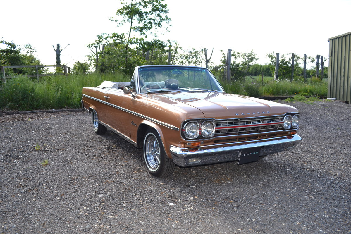 1966 AMC Rambler Classic 770 Convertible RHD For Sale (picture 1 of 6)