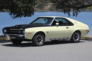 1970 AMC AMX FastBack = Full Restored Fresh 390-325HP $59.5k