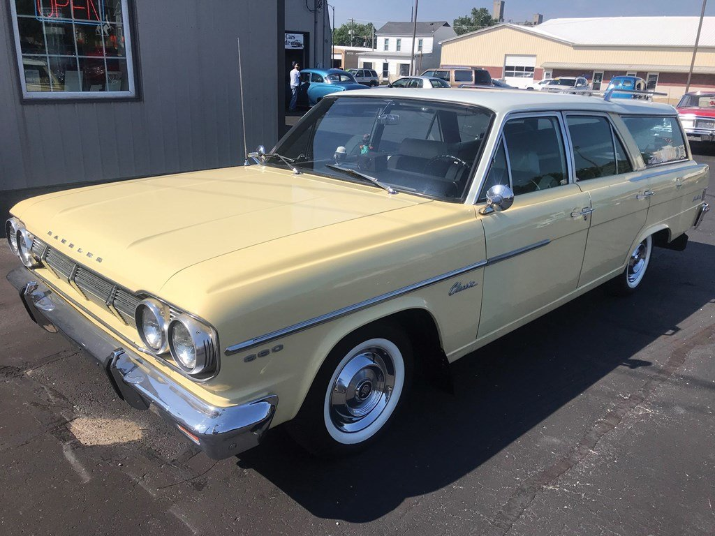 1965 AMC Rambler 660 Wagon  For Sale by Auction (picture 1 of 4)