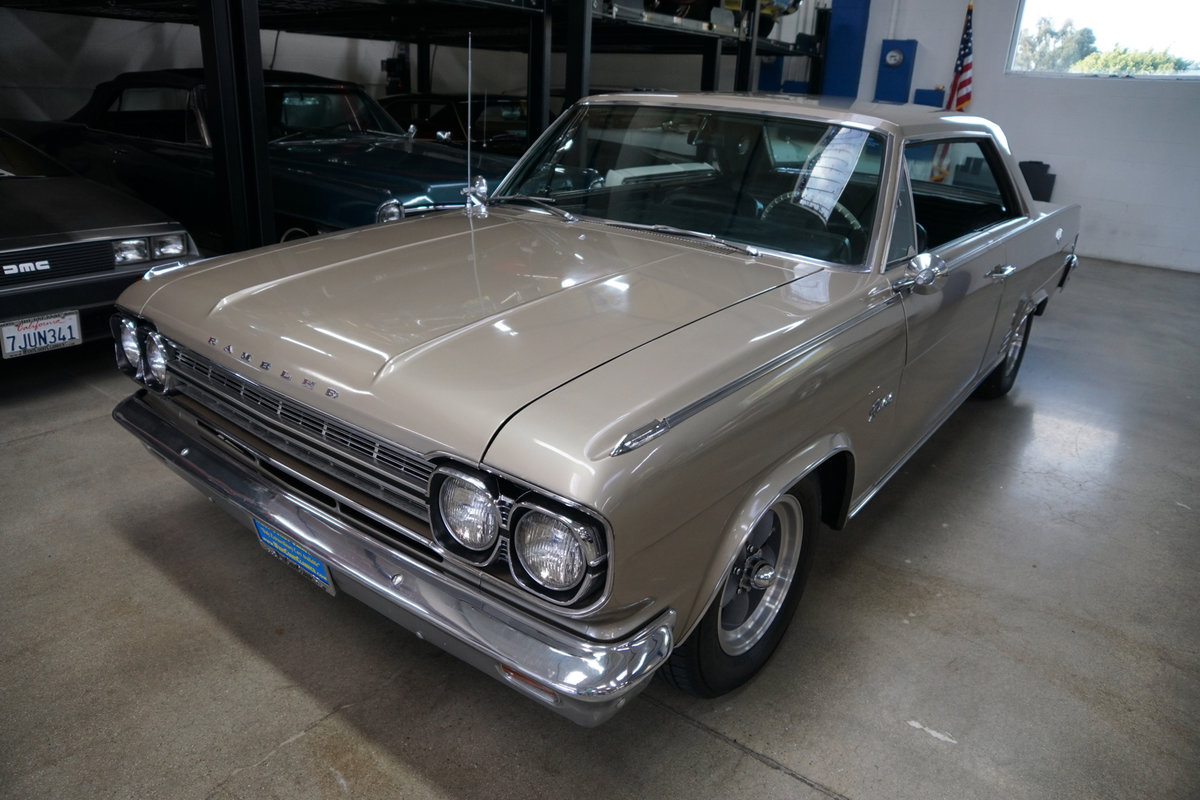 1966 AMC Rambler Classic Rebel 327 V8 2 Dr Hardtop SOLD (picture 1 of 6)