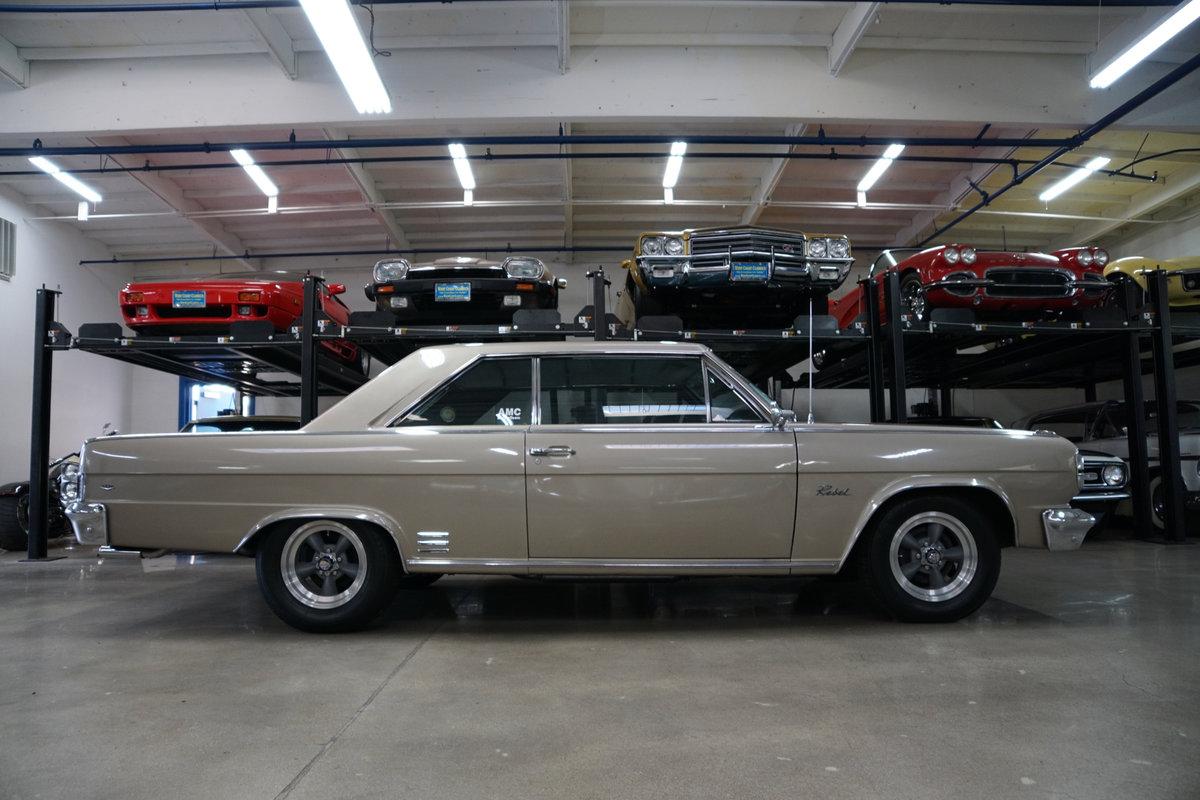1966 AMC Rambler Classic Rebel 327 V8 2 Dr Hardtop SOLD (picture 3 of 6)