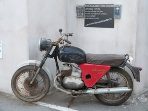 1960 Ambassador 250cc Villiers Twin motorcycle Barnfind For Sale by Auction