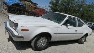 1973 AMC HORNET 2 Door Coupe Auto AC 30k miles Ivory $3.9k
