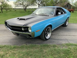 1970 AMC AMX BIG BAD BLUE GO-PACK AC O/D AUTO BUILT 401
