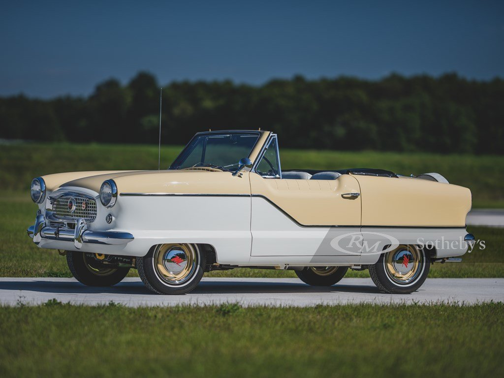 1961 AMC Metropolitan 1500 Convertible  For Sale by Auction (picture 1 of 6)