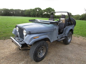 CJ5 V6 1974 LHD JEEP FOR SALE