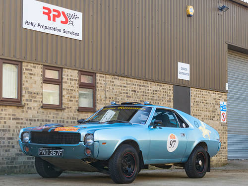 1968 AMC AMX Rally Car For Sale (picture 1 of 6)