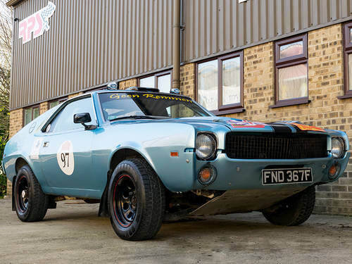 1968 AMC AMX Rally Car For Sale (picture 2 of 6)