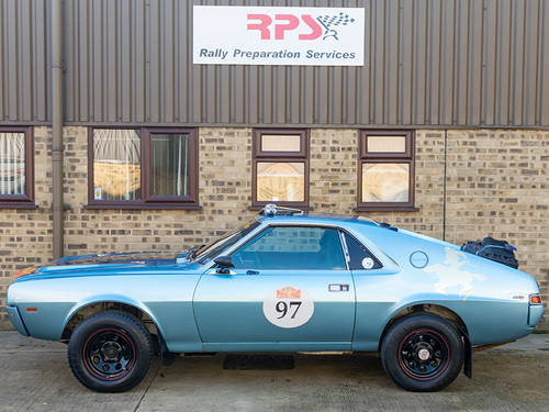 1968 AMC AMX Rally Car For Sale (picture 4 of 6)