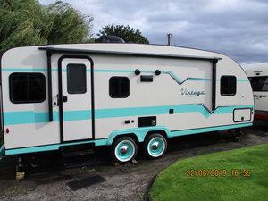 Fabulous 50's vintage American caravan, brand new