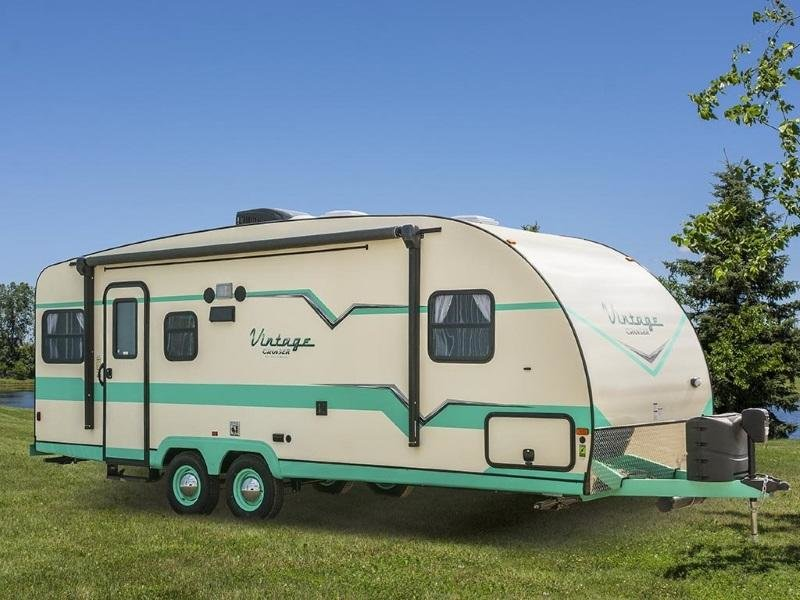 2019 Fabulous 50's vintage American caravan, Brand New For Sale (picture 1 of 6)