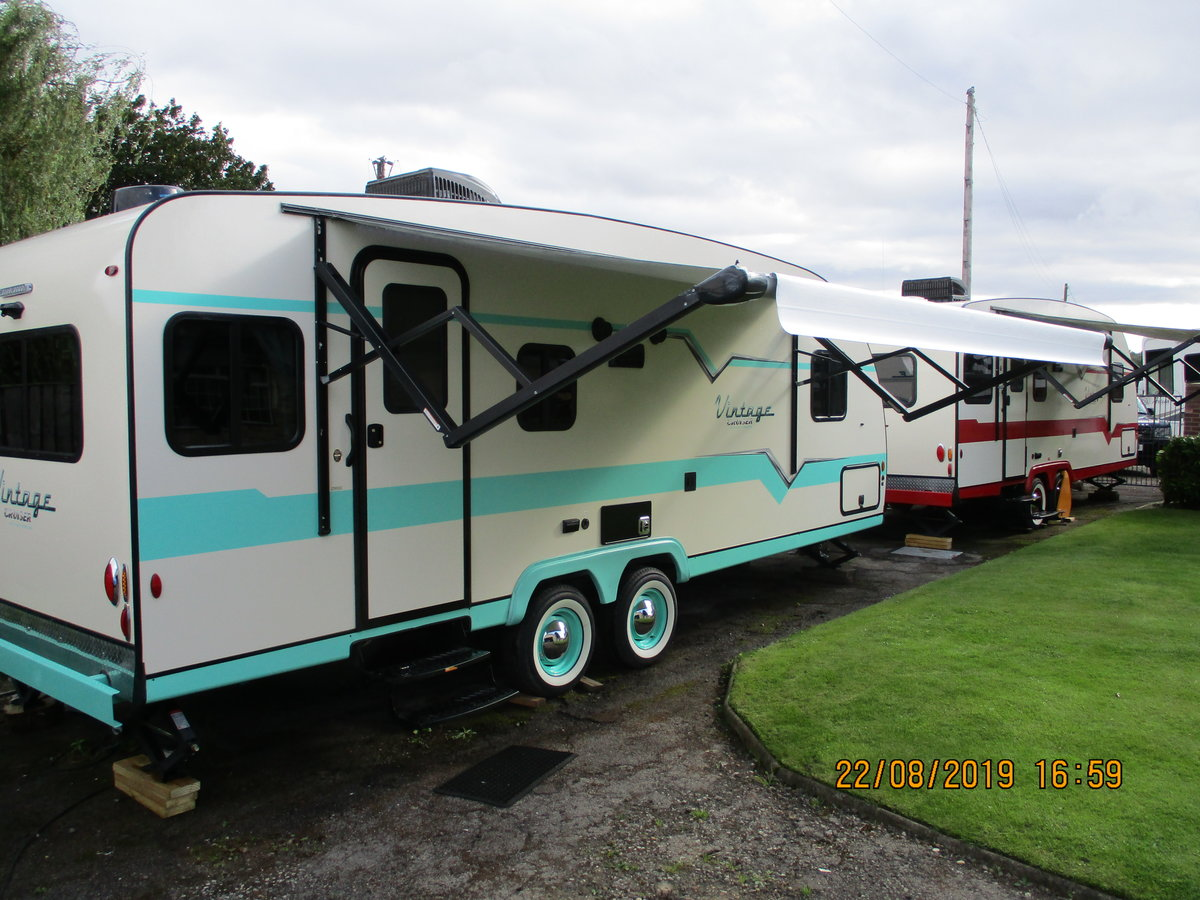 2019 Fabulous 50's vintage American caravan, Brand New For Sale (picture 4 of 6)