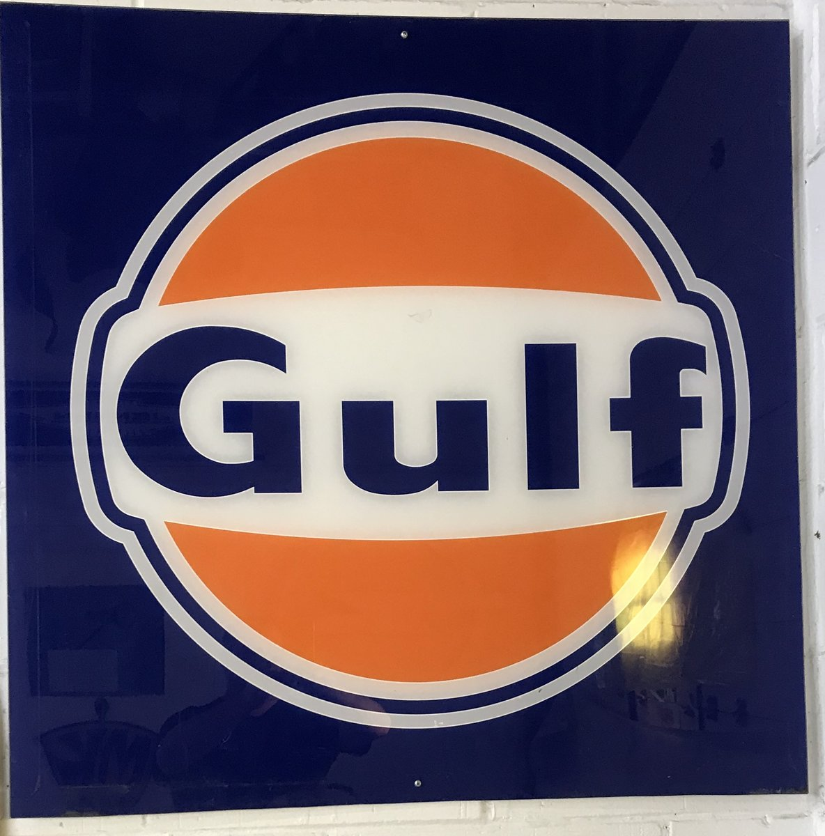 Gulf sign For Sale (picture 1 of 1)