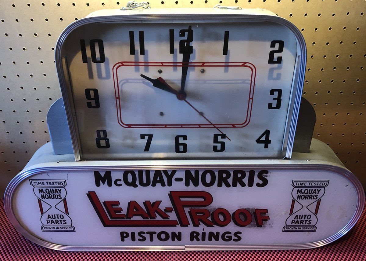 1950s McQuay Norris Clock For Sale (picture 2 of 4)