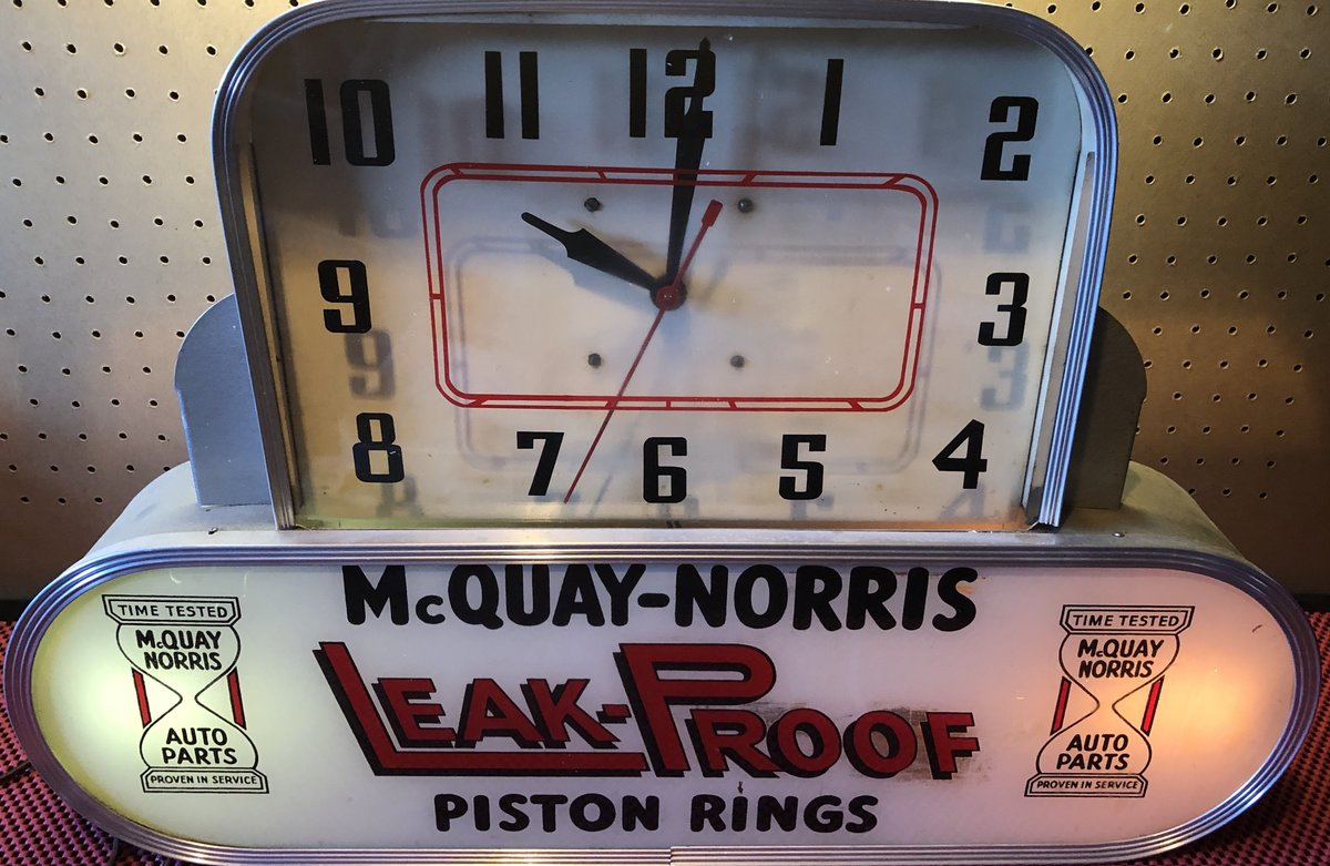 1950s McQuay Norris Clock For Sale (picture 3 of 4)