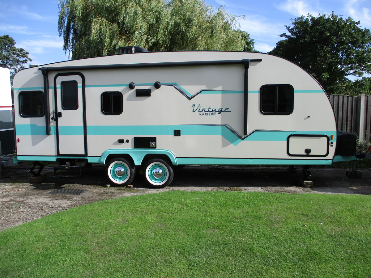 2020 Brand new 50's style American caravan For Sale (picture 1 of 6)