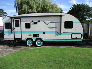 Picture of 2020 Brand new 50's style American caravan