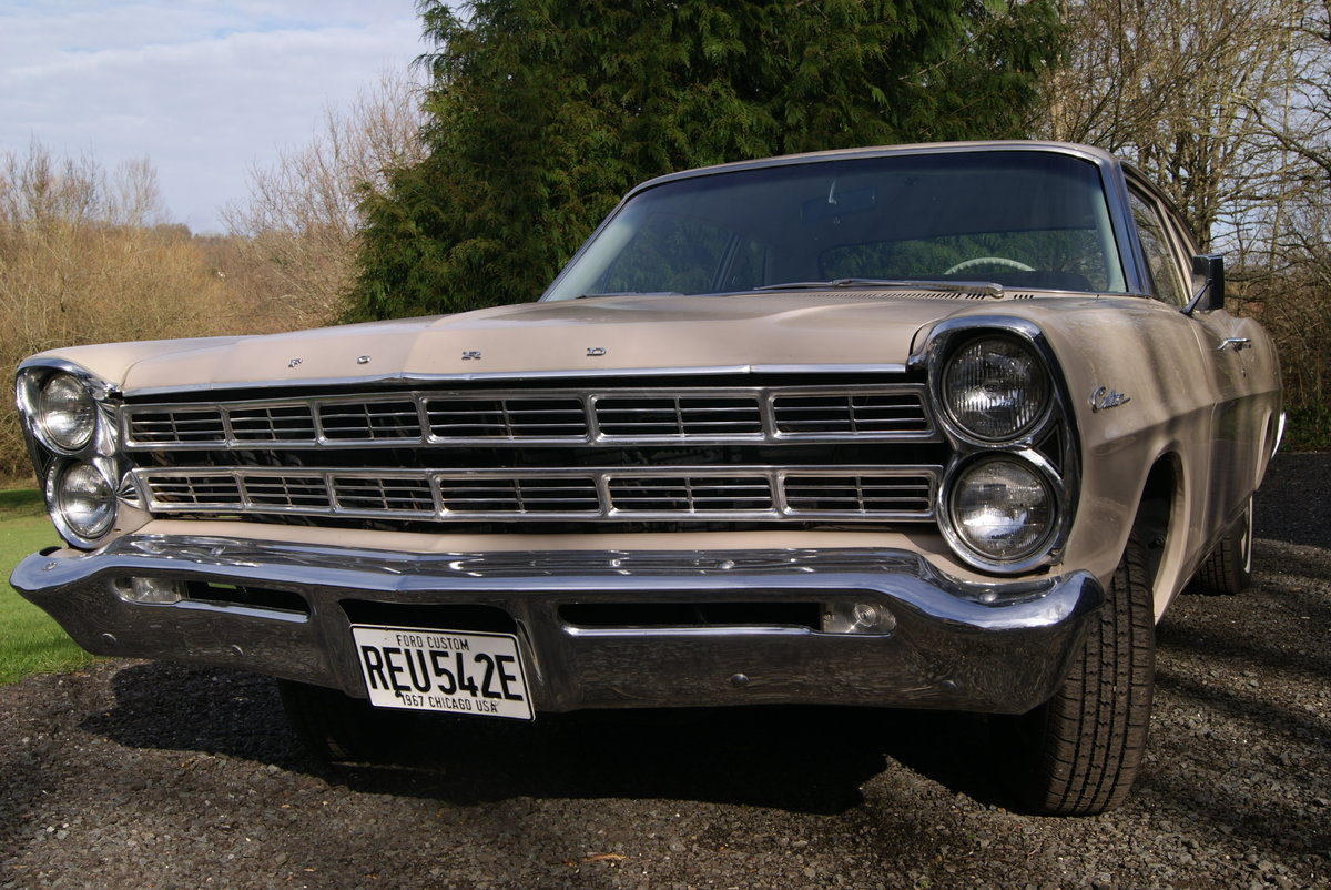 1967 FORD GALAXIE CUSTOM 500 COUPE  DEPOSIT TAKEN For Sale (picture 1 of 6)