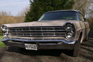 1967 FORD GALAXIE CUSTOM 500 COUPE RESTORED