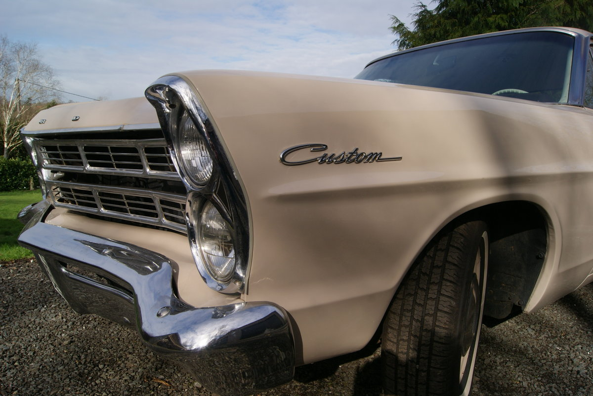 1967 FORD GALAXIE CUSTOM 500 COUPE  DEPOSIT TAKEN For Sale (picture 2 of 6)