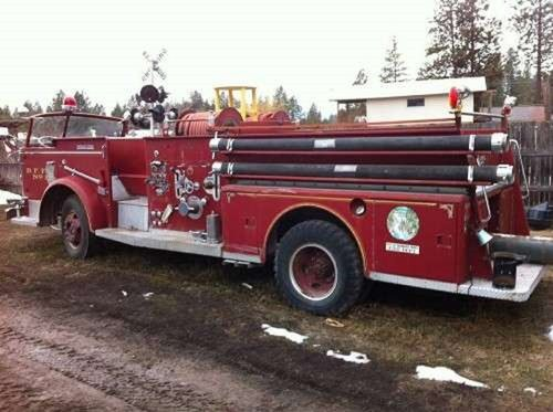 1954 American LaFrance Fire Truck For Sale (picture 1 of 5)