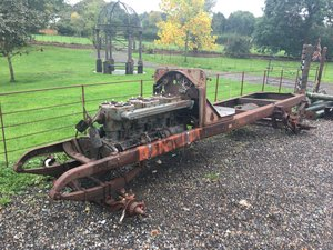 1918 American LaFrance chassis project