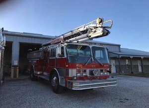 1987 Hahn Aerial Snorkel Fire Truck For Sale