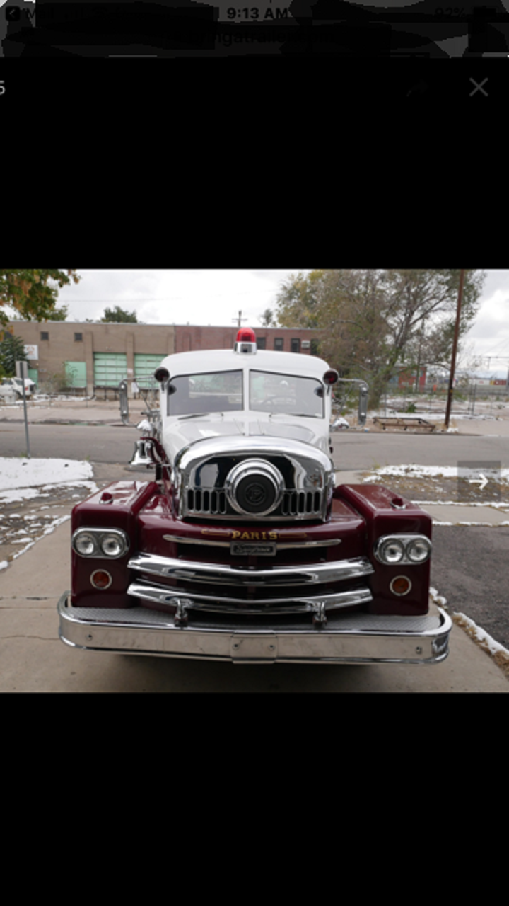 1961 Seagrave Fire Truck For Sale (picture 3 of 6)