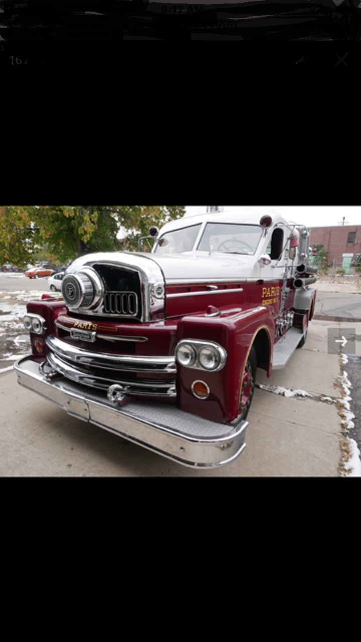 1961 Seagrave Fire Truck For Sale (picture 6 of 6)