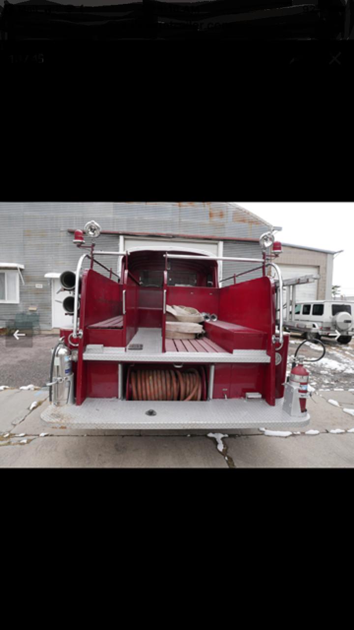 1961 Seagrave Pumper Fire Truck For Sale (picture 5 of 6)