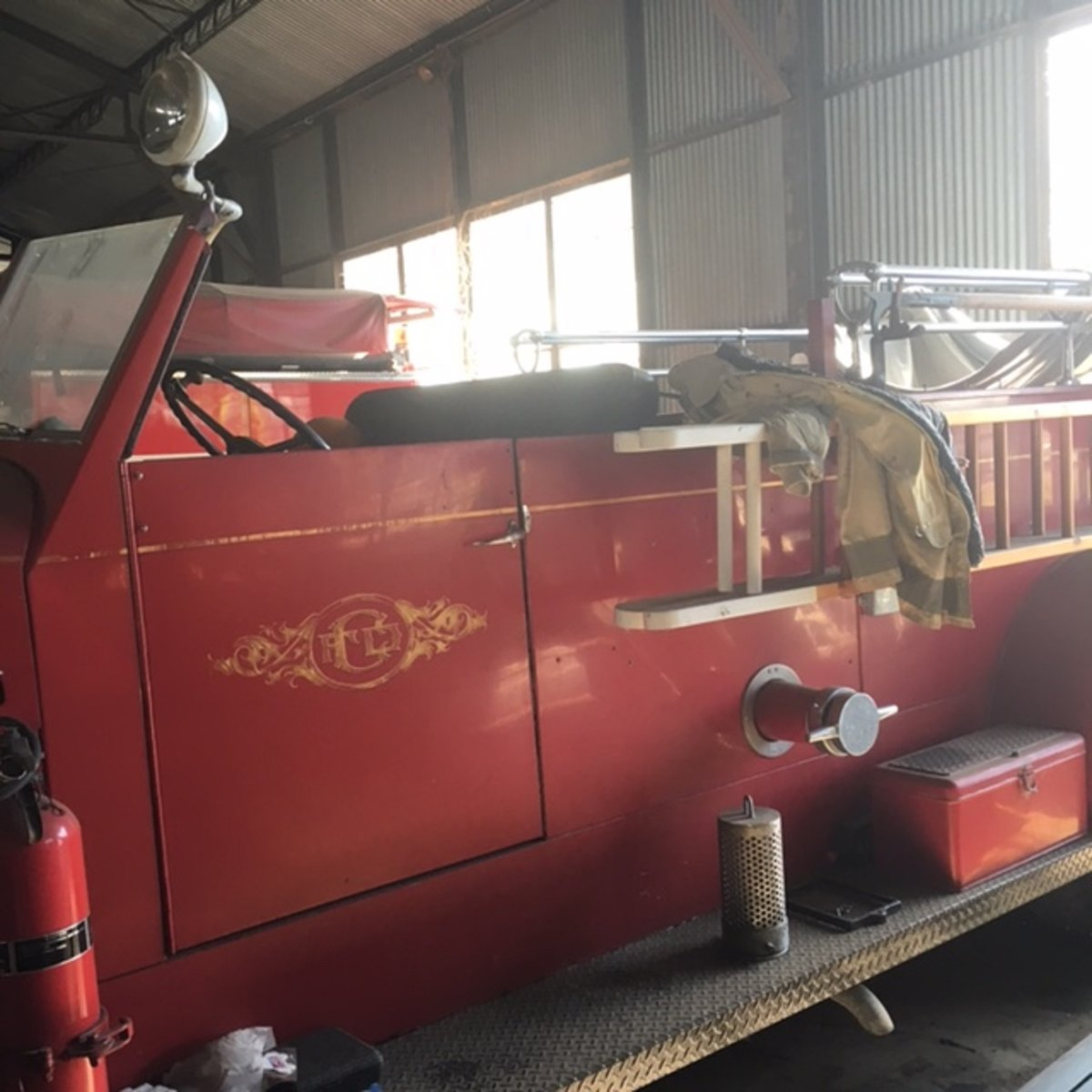1946 American LaFrance Pumper Fire Truck For Sale (picture 1 of 6)