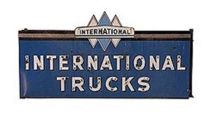 1950 International Fire Truck