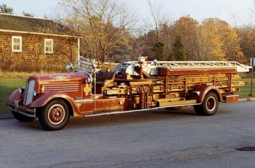 1936 Seagrave Fire Truck For Sale (picture 5 of 6)