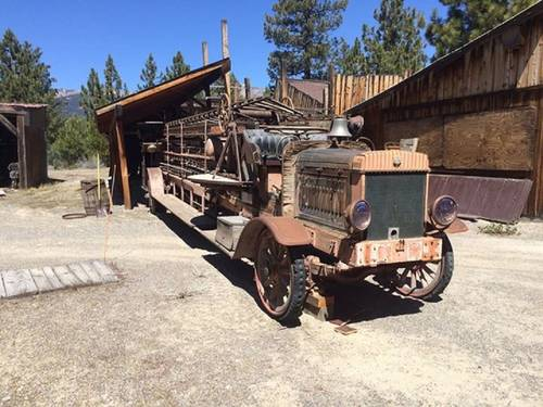 1916 Steyr Ladder Fire Truck For Sale (picture 1 of 6)