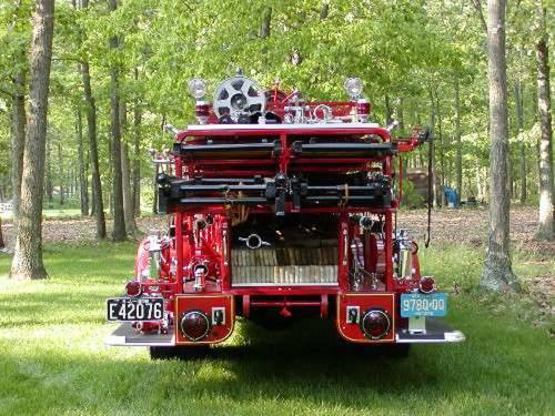 1938 Mack Ladder Fire Truck For Sale (picture 5 of 5)