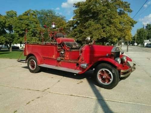 1928 American LaFrance Fire Truck For Sale (picture 1 of 6)