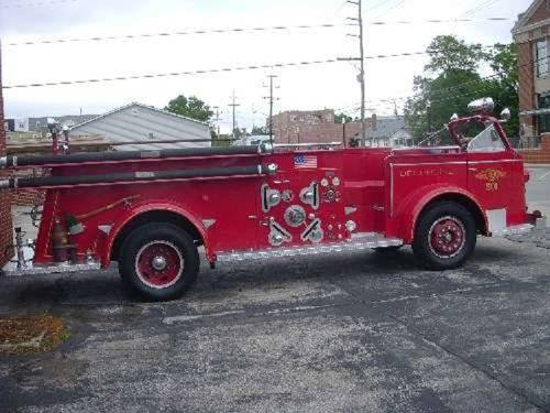 1951 American LaFrance Fire 700 Truck For Sale (picture 2 of 6)