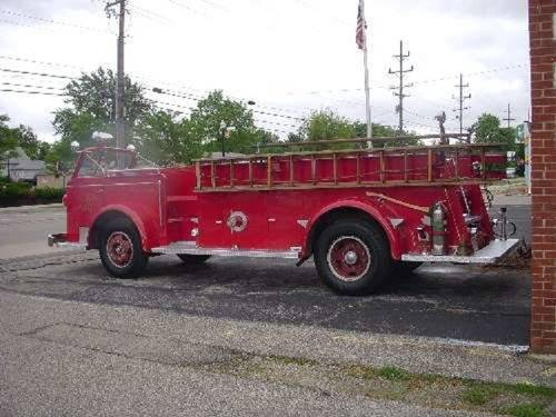 1951 American LaFrance Fire 700 Truck For Sale (picture 4 of 6)