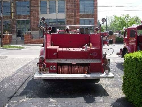 1951 American LaFrance Fire 700 Truck For Sale (picture 5 of 6)