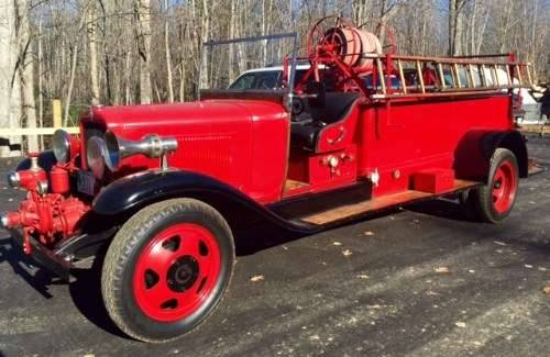 1931 Chevrolet Fire Truck For Sale (picture 1 of 6)