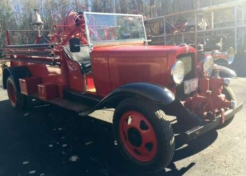 1931 Chevrolet Fire Truck For Sale (picture 2 of 6)