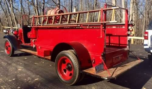 1931 Chevrolet Fire Truck For Sale (picture 4 of 6)