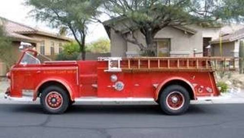 1948 American LaFrance Pumper Fire Truck For Sale (picture 1 of 6)