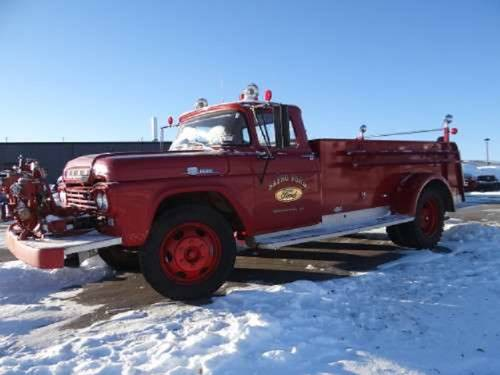 1959 Ford F600 Darley Chicago Fire Truck For Sale (picture 1 of 6)