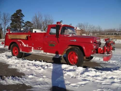 1959 Ford F600 Darley Chicago Fire Truck For Sale (picture 2 of 6)