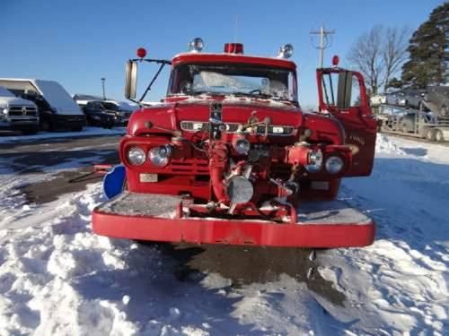1959 Ford F600 Darley Chicago Fire Truck For Sale (picture 3 of 6)