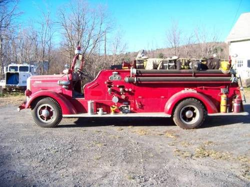 1941 Mack L Fire Truck For Sale (picture 1 of 2)