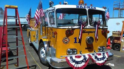1969 Seagrave Fire Truck For Sale (picture 1 of 6)