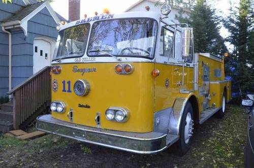 1969 Seagrave Fire Truck For Sale (picture 4 of 6)